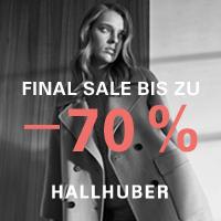 Bis 70% Rabatt bei HALLHUBER